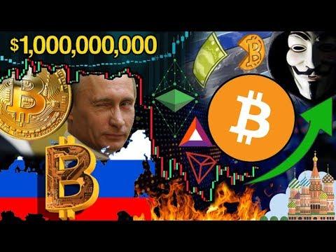 Russia to Spark the Next Bitcoin Bull Run?!? $1 Trillion Bitcoin Market Cap NOT Impossible!!!