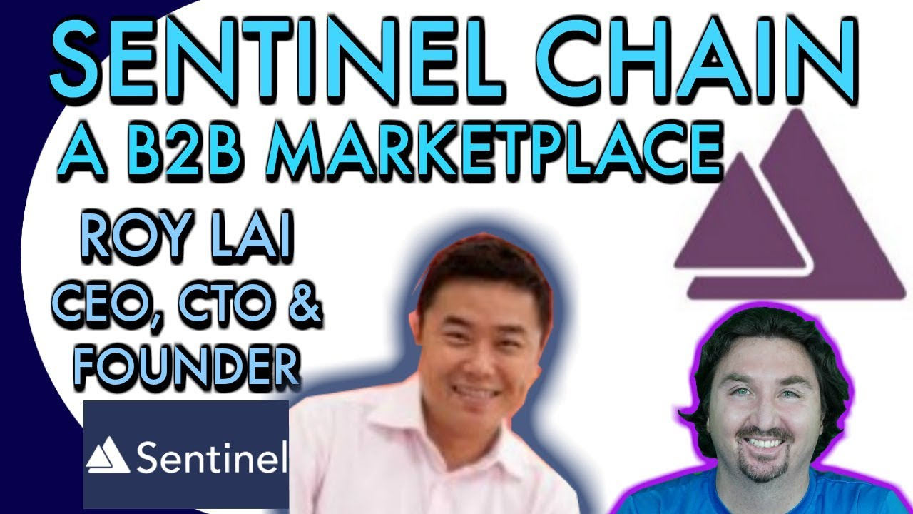 Sentinel Chain CEO Roy Lai chats with BlockchainBrad about B2B marketplaces & blockchain
