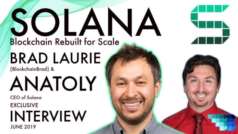 Solana | BlockchainBrad | Blockchain Built for Serious Scale | Proof of History