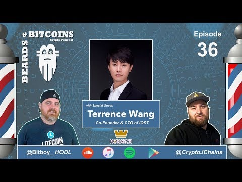 Special IOST Episode featuring $IOST Co-Founder & CTO Terrence Wang