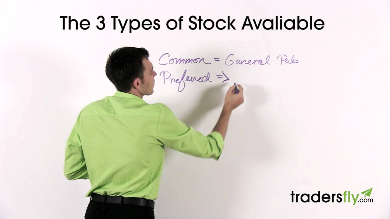 Stock Basics: 3 Different Types of Stock