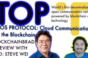 TOP Interview with BlockchainBrad   CEO Steve Wei   This Blockchain means Business   Blockchain 4.0