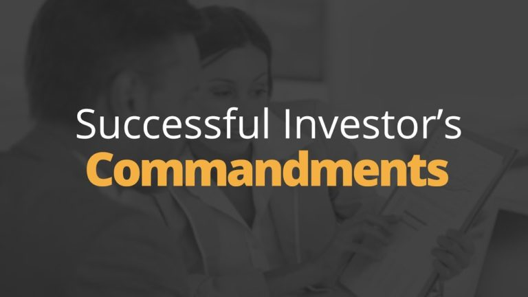 The Successful Investor's Commandments | Phil Town