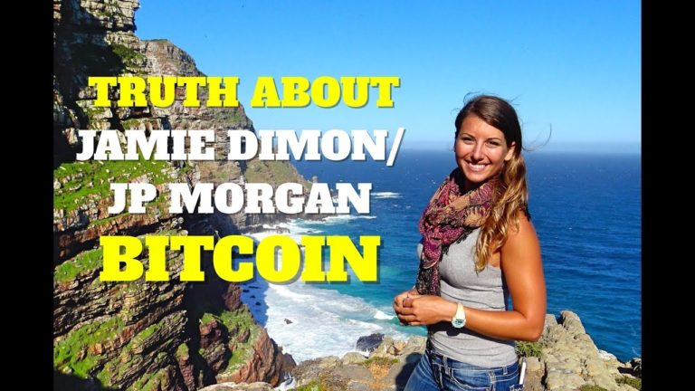 The Truth About Jamie Dimon, JP Morgan & Bitcoin