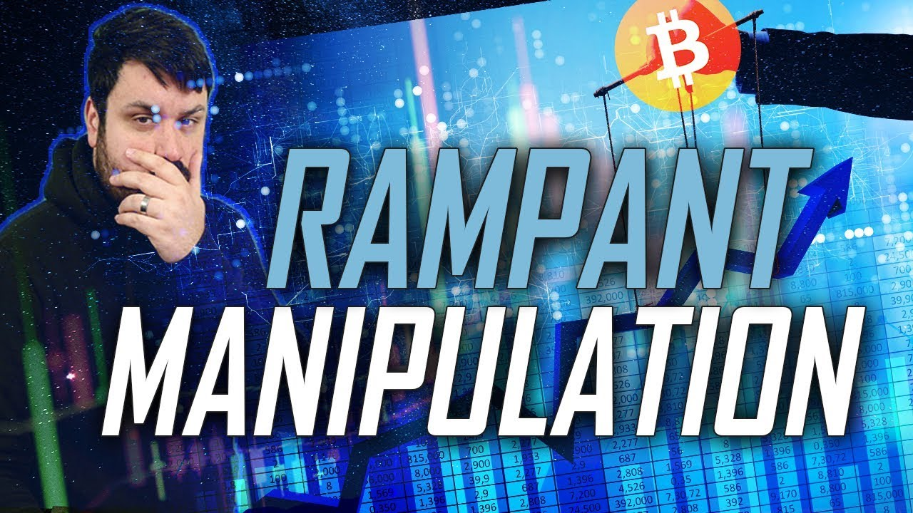 This Bitcoin Dip - Rampant Manipulation