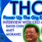 Thor: the New Gig Economy!  Exclusive THOR blockchain CEO & CTO interview: The Contractor solution.