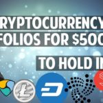 Three $500 cryptocurrency portfolios for 2018