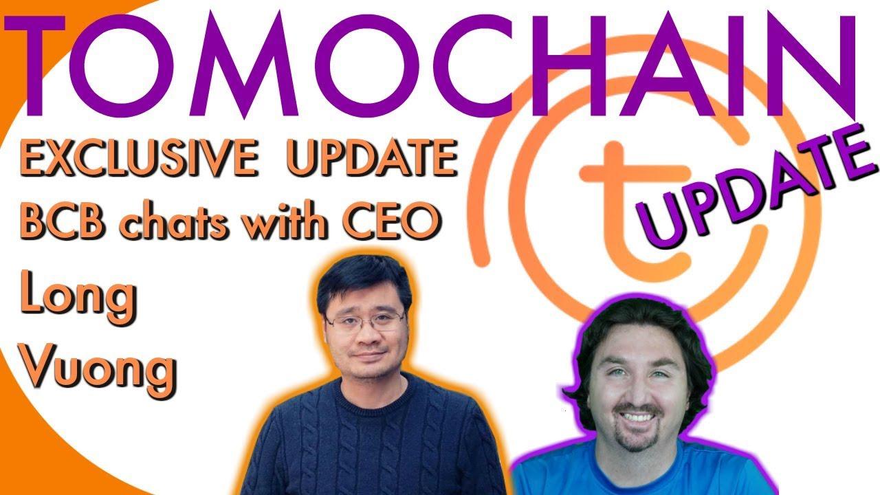 Tomochain Exclusive Update | TOMO CEO | BlockchainBrad Interview | Crypto News