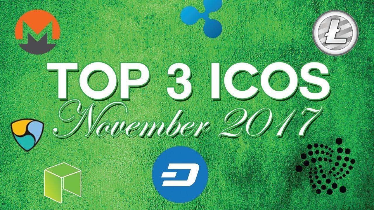 Top 3 ICOs: November 2017 - Gizer & more!