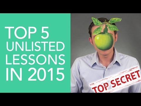 Top 5 Stock Market Lessons of 2015 that were UNLISTED