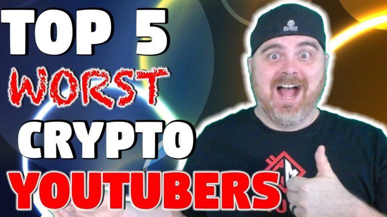 Top 5 WORST Crypto YouTubers | Avoid Them Like the Plague