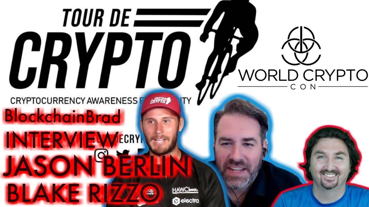 Tour de Crypto | Special BCB Interview | Crypto Charity | HAWC | BlockchainBrad | Crypto News