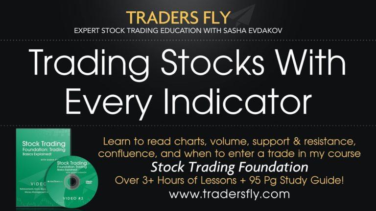 Trading Stocks with Every Indicator: MACD, Elliot Wave, Stochastics, Etc.