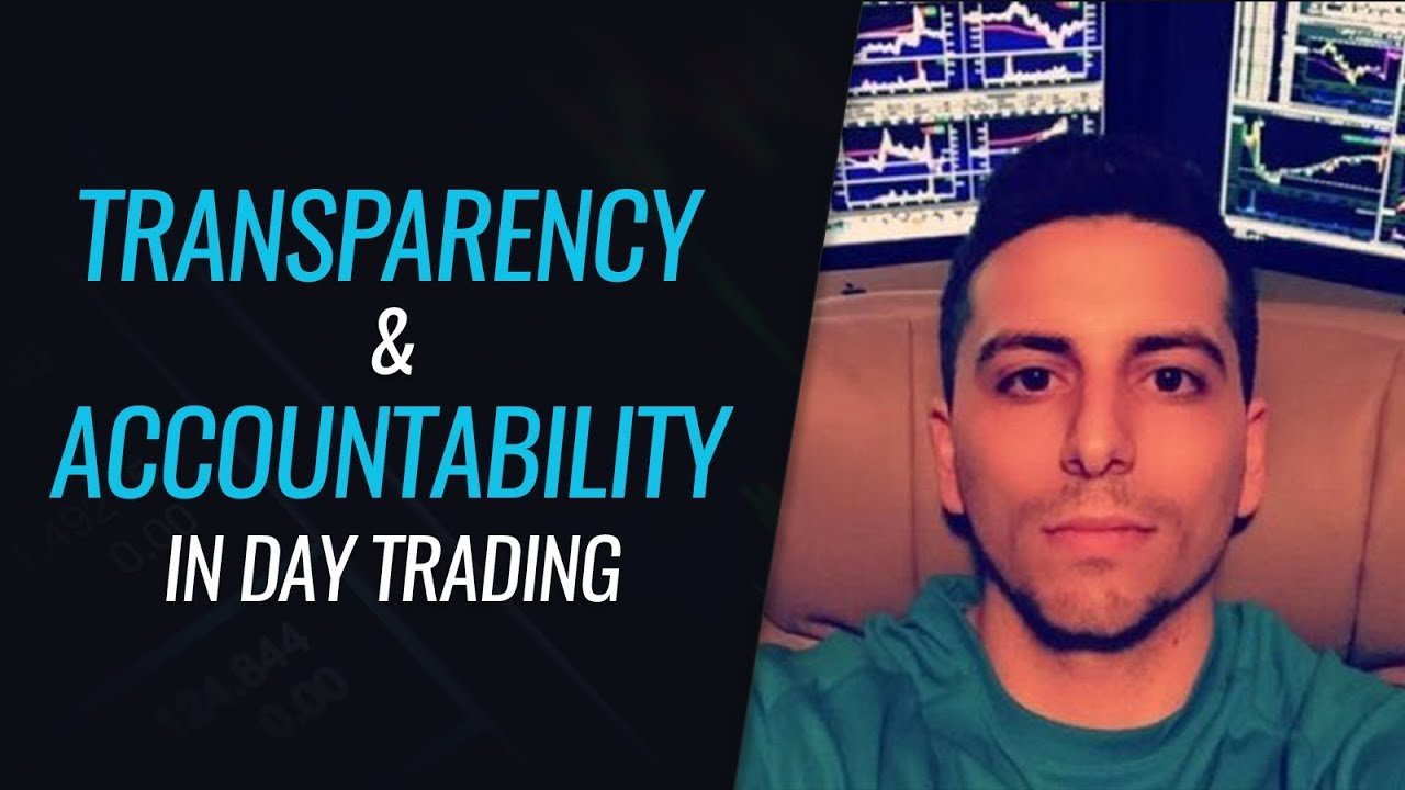 Transparency & Accountability in Day Trading - With Dante