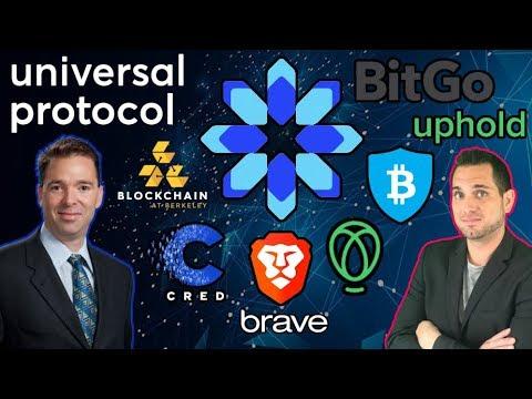 Universal Protocol: Brave, Cred, Uphold, BitGo, Blockchain at Berkley Alliance for Interoperability