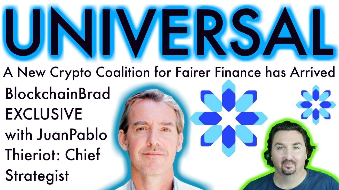 Universal Protocol   Exclusive BlockchainBrad Interview   Crypto Coalition   $UPT    UPP