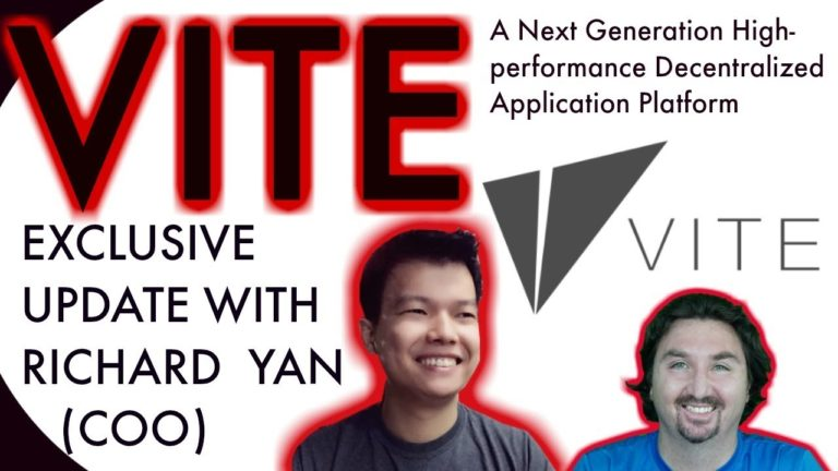 VITE EXCLUSIVE UPDATE | BCB Exclusive | Richard Yan | Ethereum's Challenger? | DAPP Platform