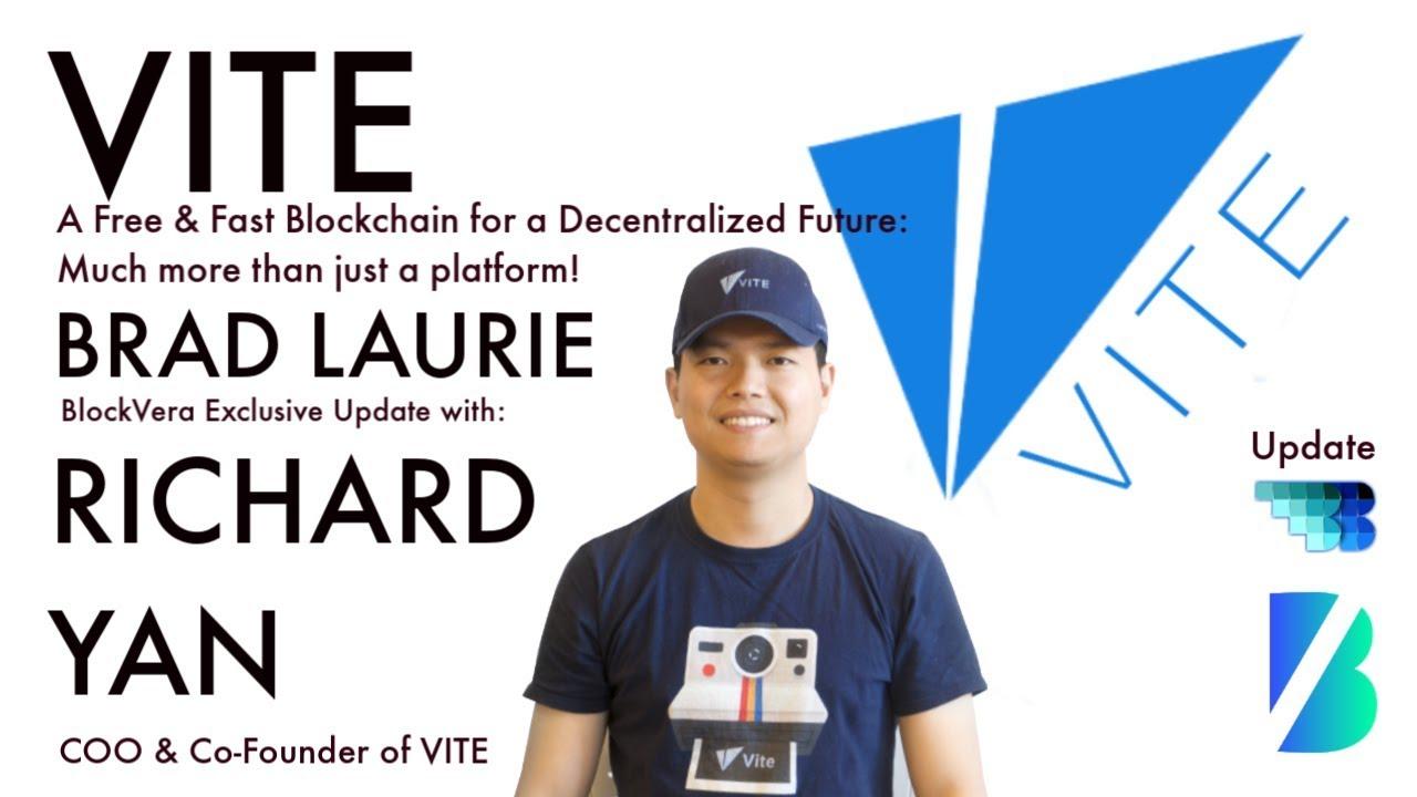 VITE Update | BlockVera | BlockchainBrad | ViteX DEX | Fast Blockchain | Decentralised Ecosystem