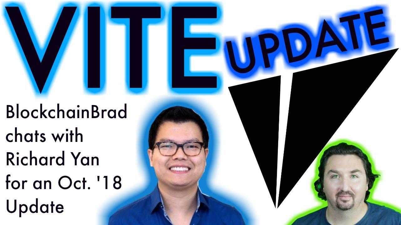 VITE update | BlockchainBrad Interview | Crypto Update | Supernodes | Vite Store & Vite Pay