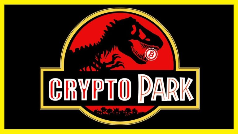 Welcome to Crypto Park! (Jurassic Park Parody)