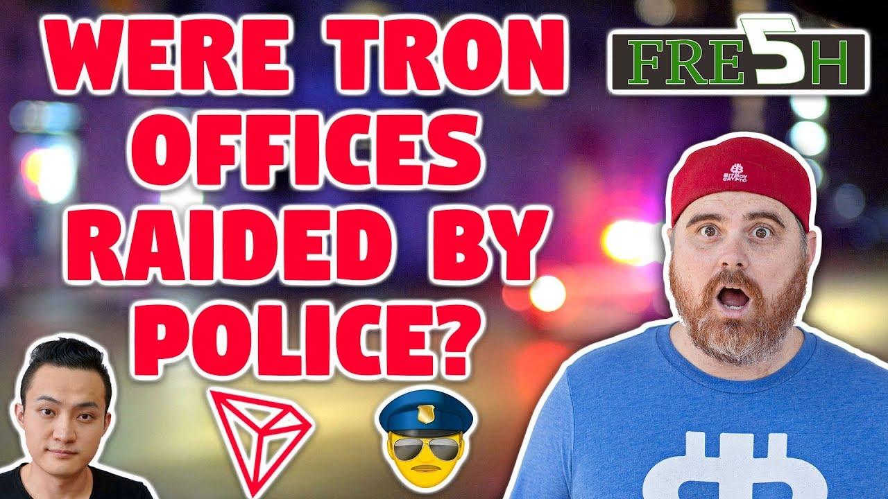 Were Tron Offices Raided? | Bitcoin Heading to $40k? | Is BTC Killing Banks Already? | EOS Exodus to