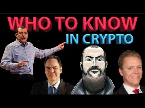 Who to Know in Crypto