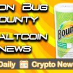 Your Daily Crypto News: Tron Bug Bounty & Altcoin News