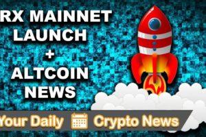 Your Daily Crypto News: Tron Mainnet + Altcoin News