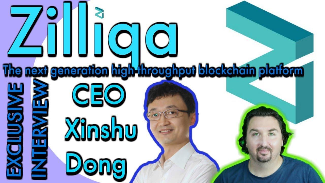 Zilliqa Interview with CEO Xinshu Dong by BlockchainBrad. The Next Gen. High Throughput Blockchain
