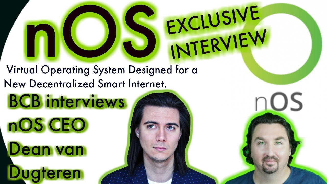 nOS Exclusive | CEO interview |  Virtual Operating System | The New Smart Internet