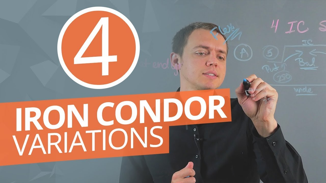4 Iron Condor Setups for Option Traders (Skewed, Unbalanced, Wide, and Iron Butterfly) Ep 194