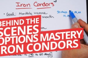 Behind the Scenes: Options Mastery - Iron Condors Course
