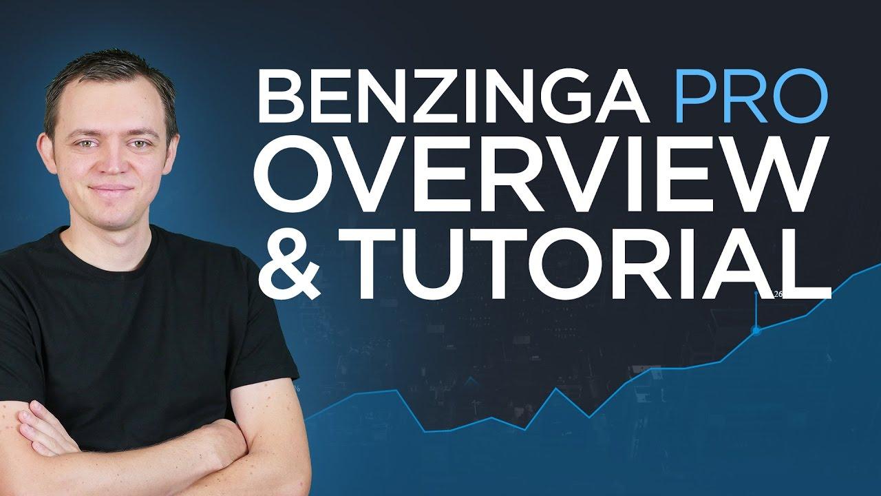 Benzinga Pro Platform Review & Tutorial + Coupon Code