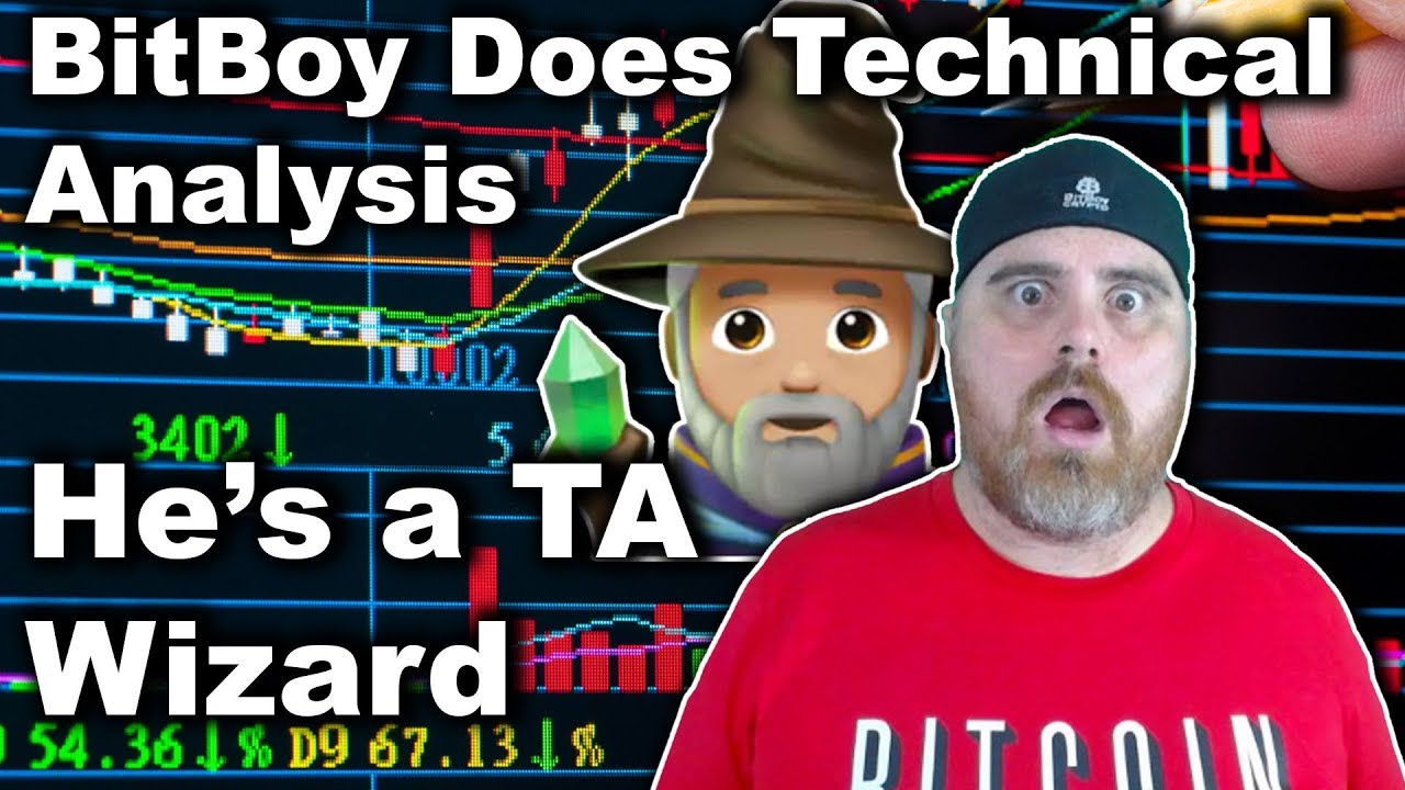 BitBoy Tries His Hand at Technical Analysis | TA Wizard | New Techiques!