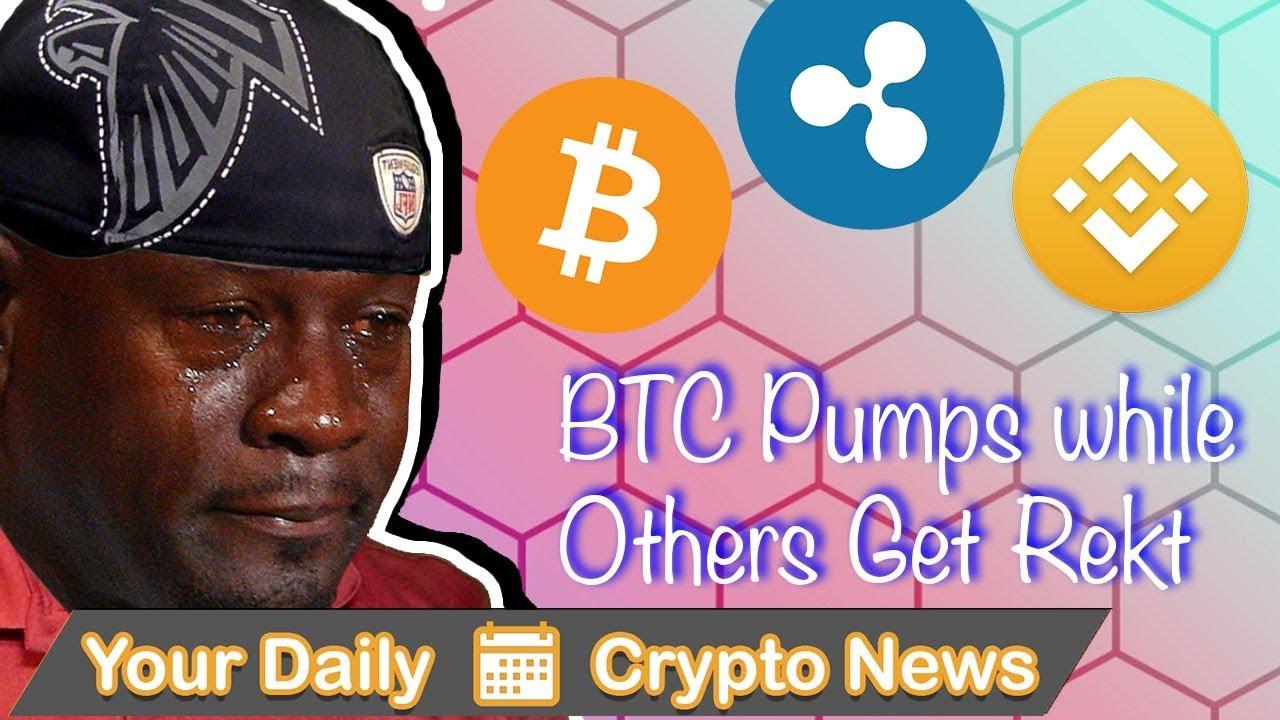 Bitcoin Shorters Rekt, Ripple Partnering with Apple, Binance Coin Burn