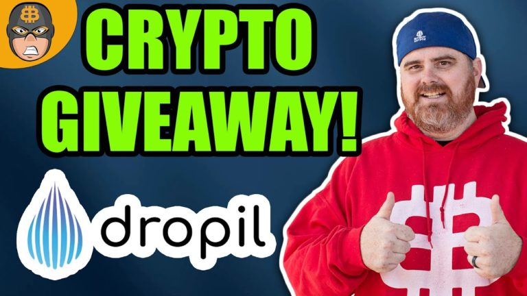 CRYPTO GIVEAWAY! | Dropil Gives Away 250k DROP Tokens!