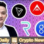 Crypto News: New REQ Roadmap, Tron Buys BitTorrent, OMG, WAN, & ARK