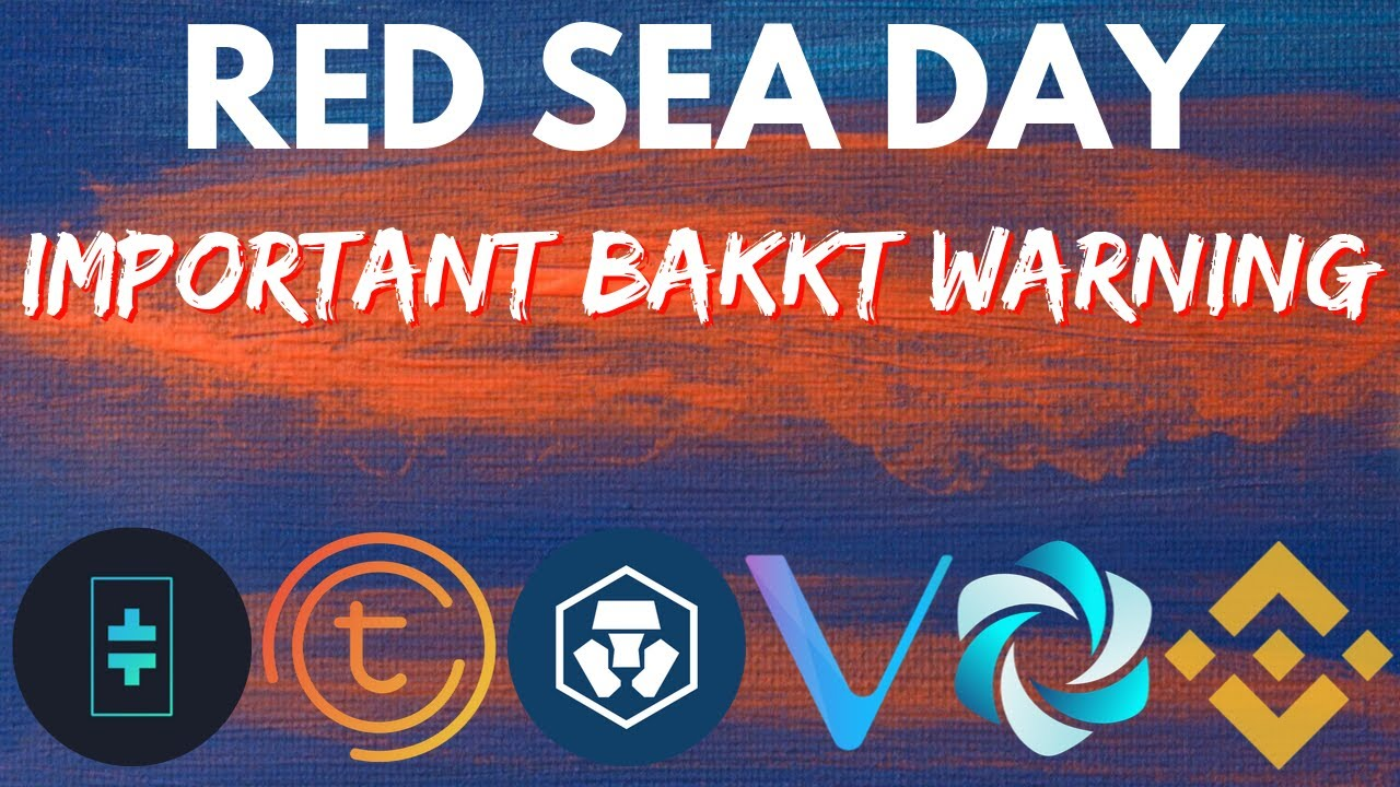 Cryptocurrency Red Sea | vechain | binance | HPB | tomochain | bakkt | bitcoin news