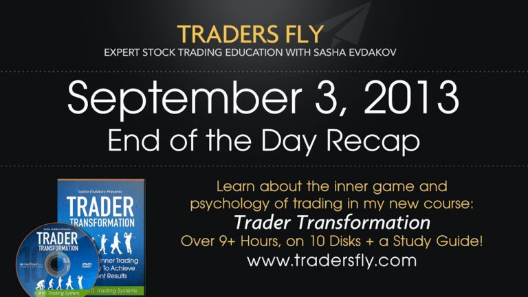 End of Day – Amazon, and Mastercard Recap | Dow Jones and S&P500 – Sept 3, 2013