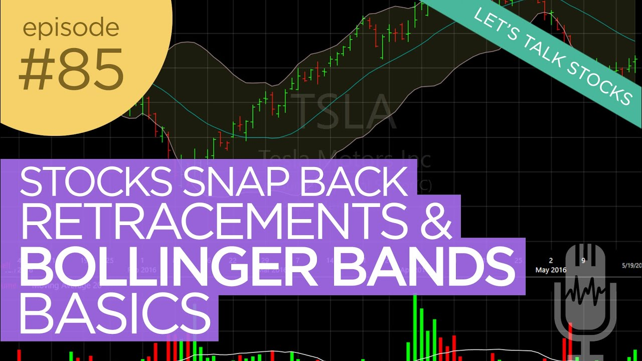 Ep 85: Stock Snap Backs, Retracements, & Bollinger Bands