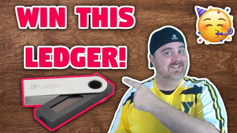 FREE Ledger Nano S! | Ledger Unboxing & Giveaway | 24 Hour Flash Giveaway Contest
