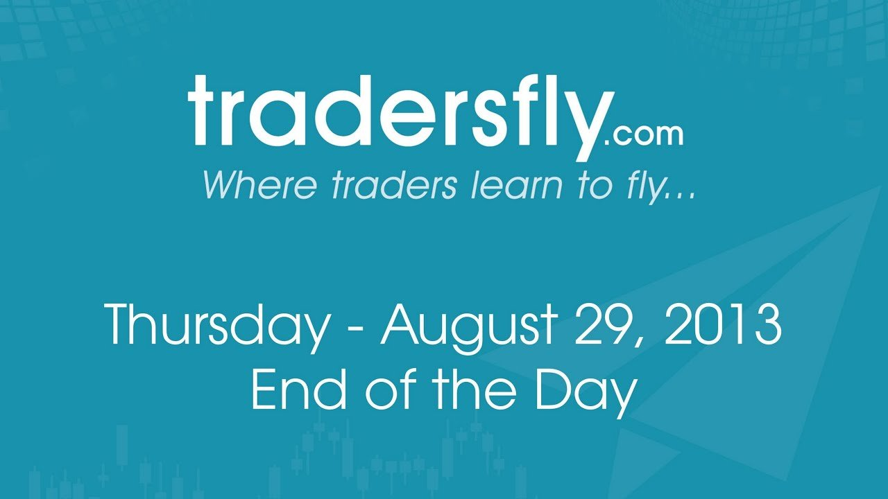 GOOG, NFXL, DIA - Stock Market and Trading Review - Aug 29, 2013