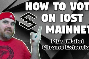 How To Vote on IOST Mainnet | Biss Tutorial | iWallet Chrome Extension for IOST