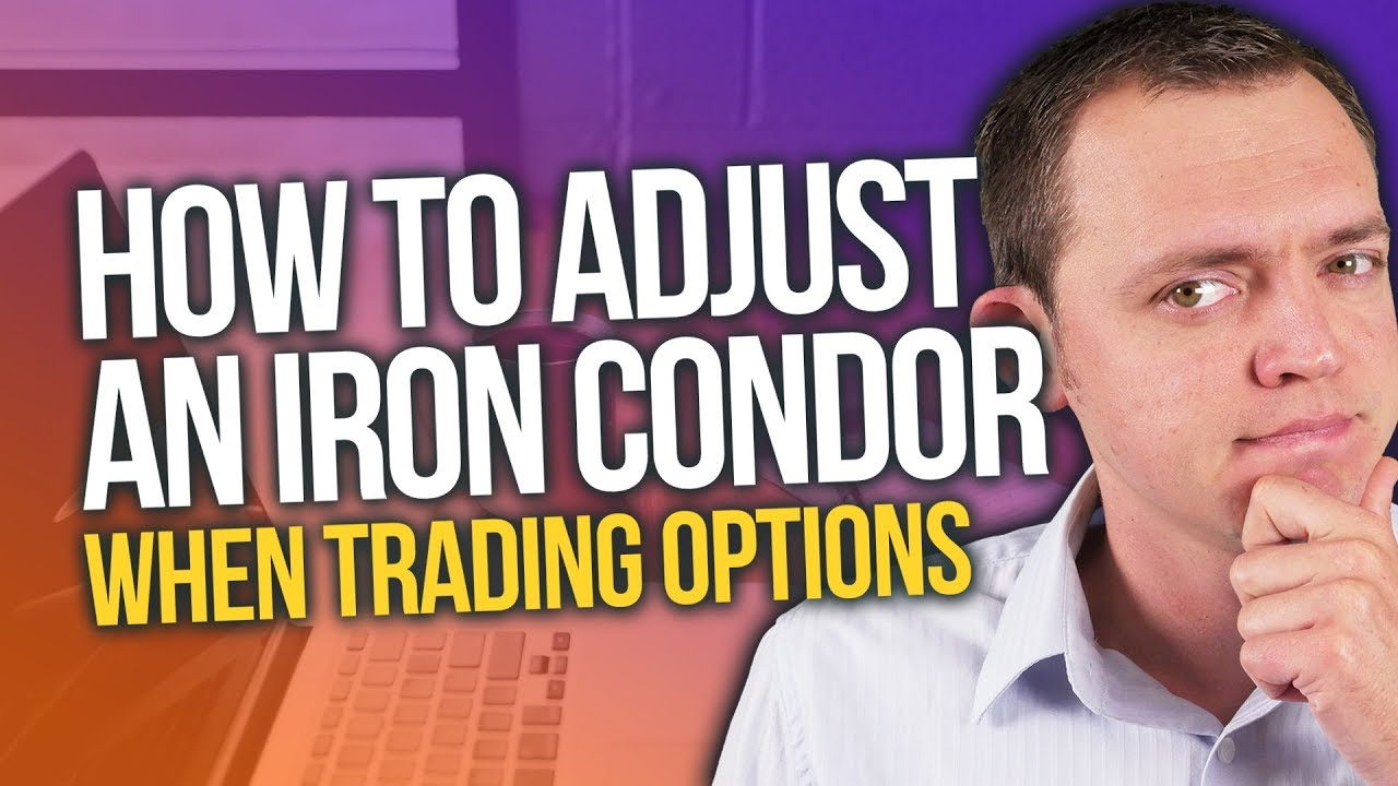 How to Adjust an Iron Condor by Rolling when Trading Options Ep 250