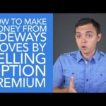 How to Make Money from Sideways Stock Moves by Selling Option Premium