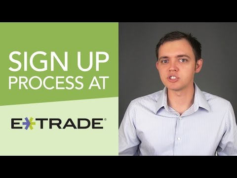 How to Signup & Get a Stock Trading Account at Etrade