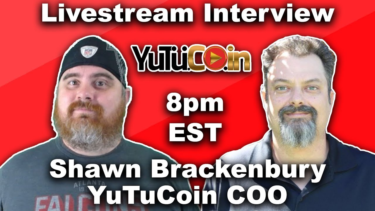 Interview with YuTuCoin COO Shawn Brackenbury |  BitBoy Crypto Livestream