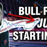 Is The Bitcoin Bull Run JUST Starting?