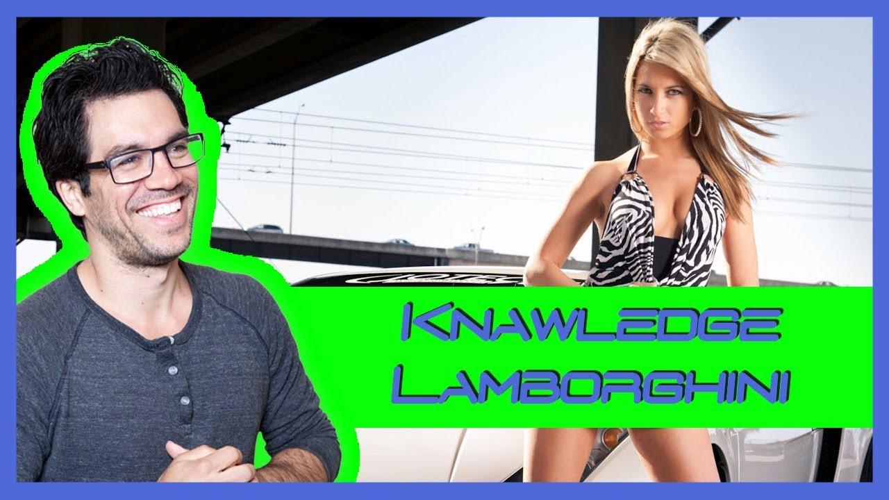 Knawledge Lamborghini featuring Tai Lopez
