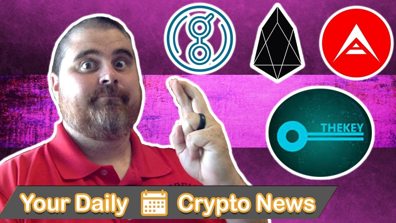 Korean FUD, Morgan Stanley Bullish, Security Tokens, $POLY, $EOS, $ARK, $TKY, $GNT, & More!